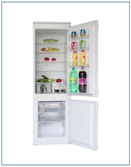 P87030EMBI PowerPoint 70/30 Integrated Fridge Freezer