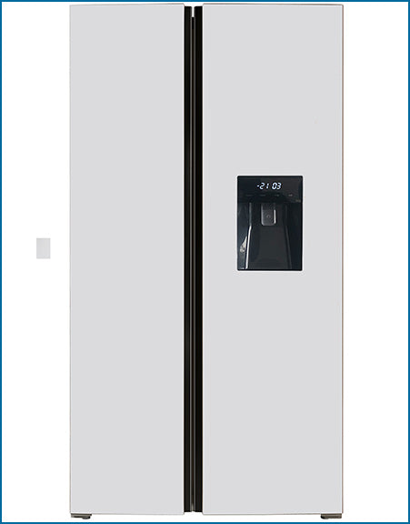 P9458SWDSS PowerPoint American Style Fridge Freezer(Water Disp.)