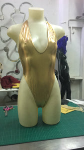 Pure gold swimsuit