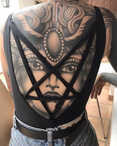The pentagram swimsuit