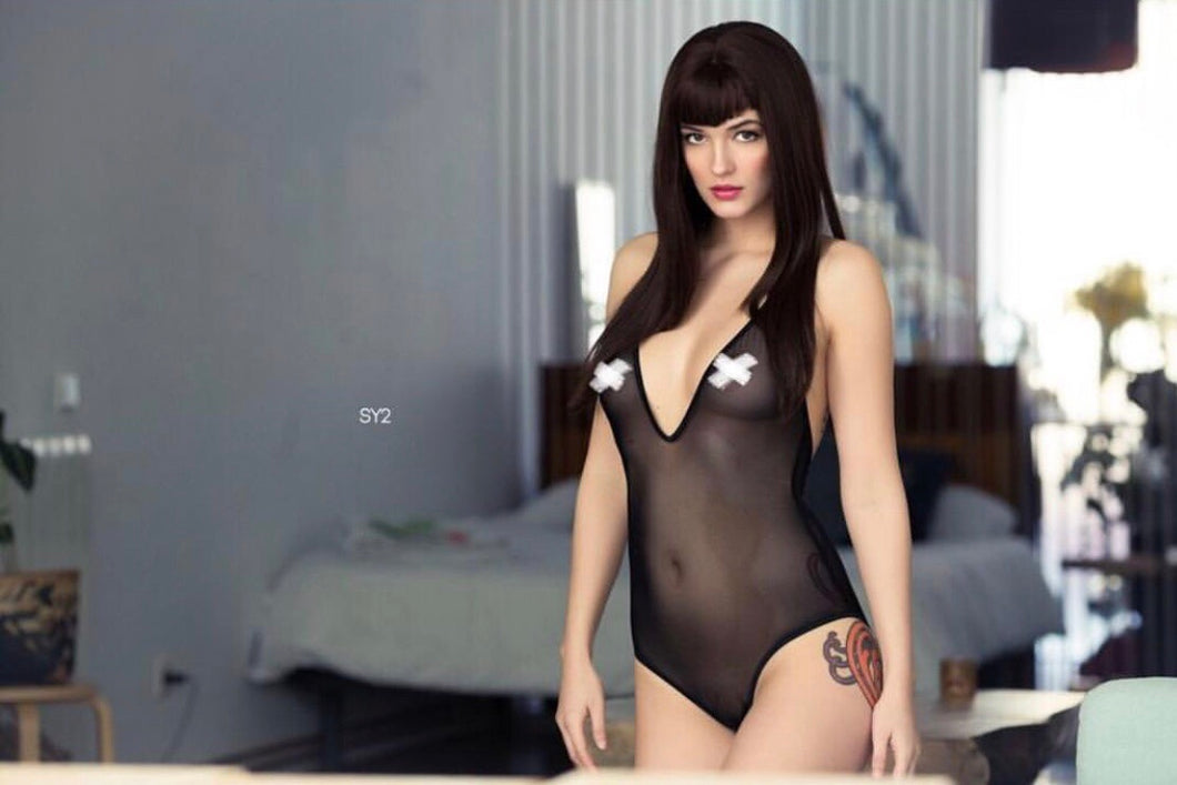 Pandora sheer bodysuit