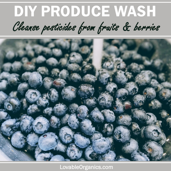 How to Cleanse Berries from Pesticides & Sprays