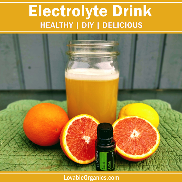 Homemade Electrolyte Sport Drink