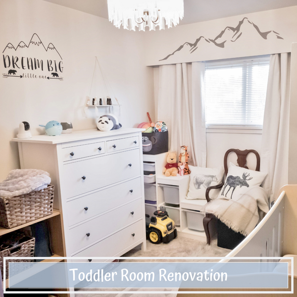 Toddler Room Renovation