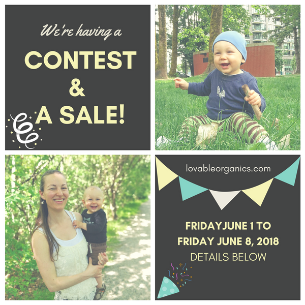 We're having a CONTEST and a SALE