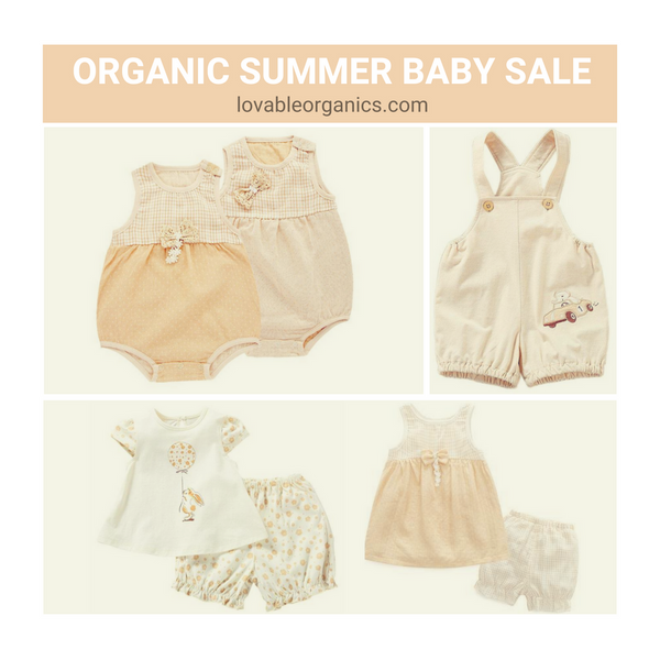 Why Should You Purchase Organic Cotton for Your Baby or Child?