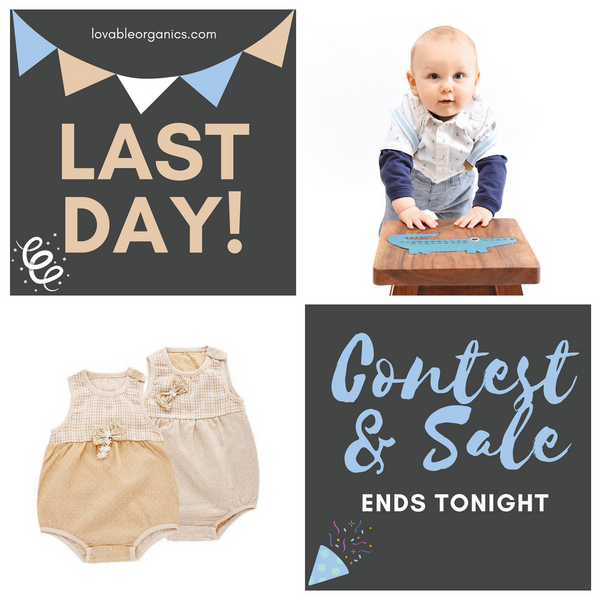 LAST DAY OF OUR CONTEST & SALE