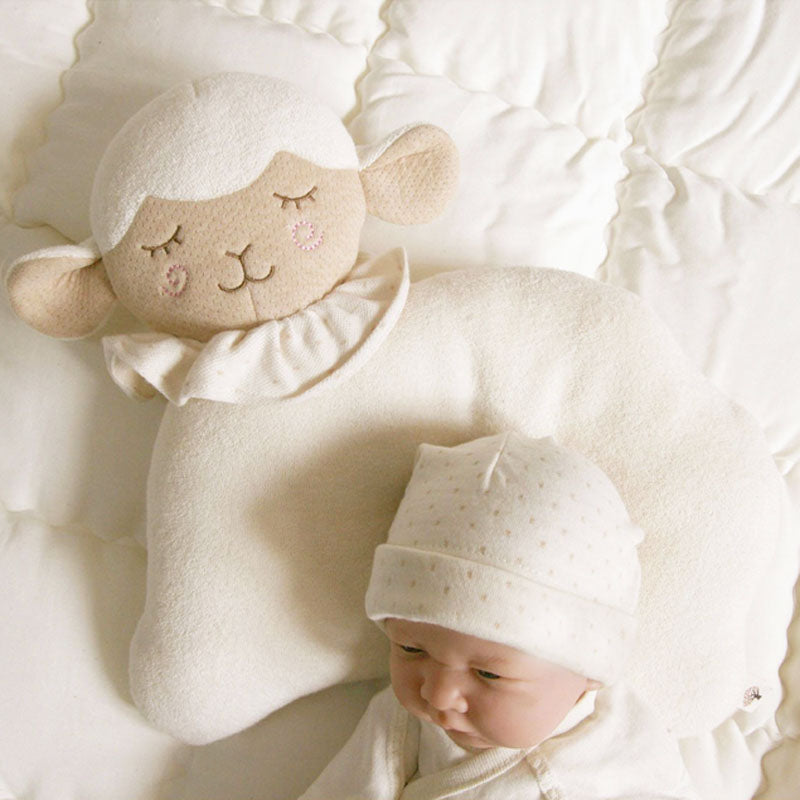 Organic Cotton Baby Protective Pillow