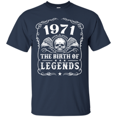 1971 Shirts 1971 The Birth Of Legends Hoodies Sweatshirts