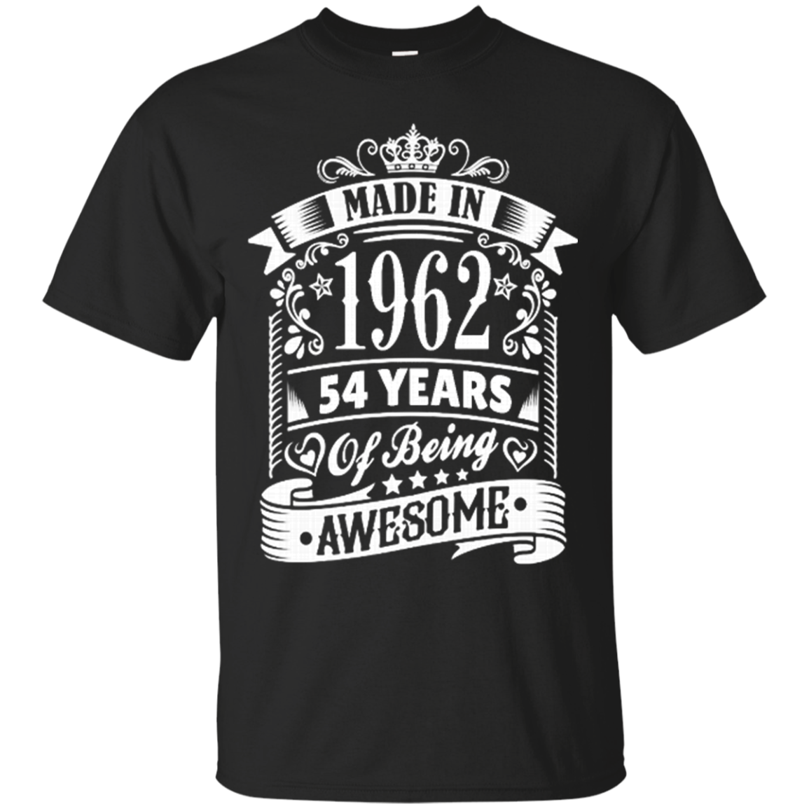 1962 Shirts Made In 1962 54 Years Of Being Awesome Hoodies Sweatshirts
