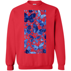 Blue Butterflies Shirts Hoodies Sweatshirts