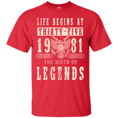 1981 Shirts The Birth Of Legends  Hoodies Sweatshirts