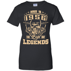 1956 Shirts Made In 1956 The Birth Of Legends Hoodies Sweatshirts
