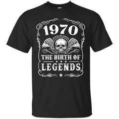 1970 Shirts 1970 The Birth Of Legends Hoodies Sweatshirts