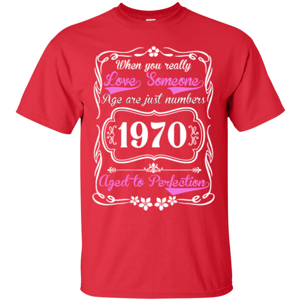 1970 Shirts When You Really Love Someone Age Are Just Number 1970 Aged To Perfection Hoodies Sweatshirts