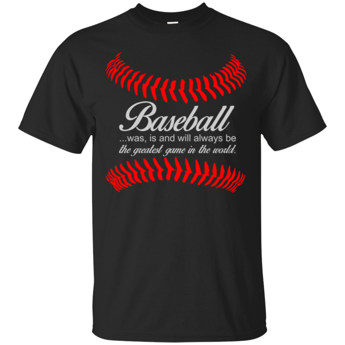 Baseball Was Is And Will Always Be The Greatest Game In The World Baseball Shirts Hoodies Sweatshirts