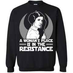 A Woman's Placa Is In The Resistance Stars War Shirts Hoodies Sweatshirts