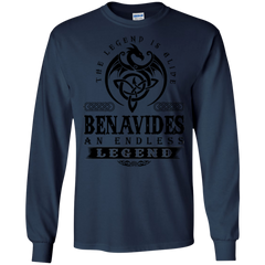 Benavides Shirts The Legend Is Alive Benavides An Endless Legend Hoodies Sweatshirts