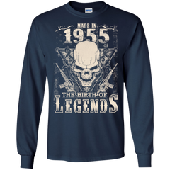 1955 Shirts Made In 1955 The Birth Of Legends Hoodies Sweatshirts