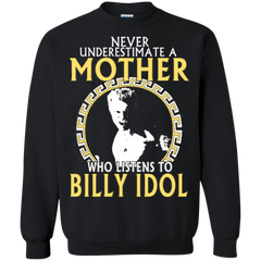 Billy Idol Mother Shirts Mother Listens To Billy Idol Hoodies Sweatshirts