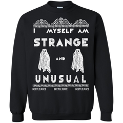 Beetlejuice Shirts I Myself Am Strange And Unusual Hoodies Sweatshirts