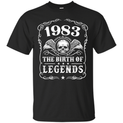 1983 Shirts The Birth Of Legends Hoodies Sweatshirts