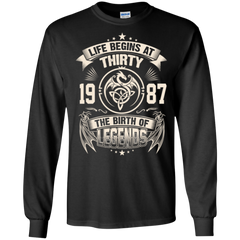 1987 Shirts The Birth Of Legends Hoodies Sweatshirts