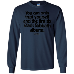 Black Sabbath Shirts You Can Only Trust Yourself Hoodies Sweatshirts
