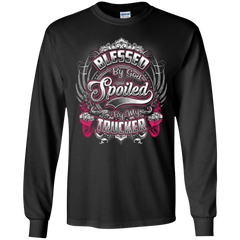 Blessed By God Spoiled By My Trucker Shirts Hoodies Sweatshirts