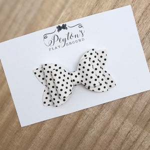 "Stacked Polka Dot 3"" Bows"