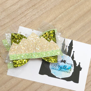 Princess and the Frog LUX Medium Bow