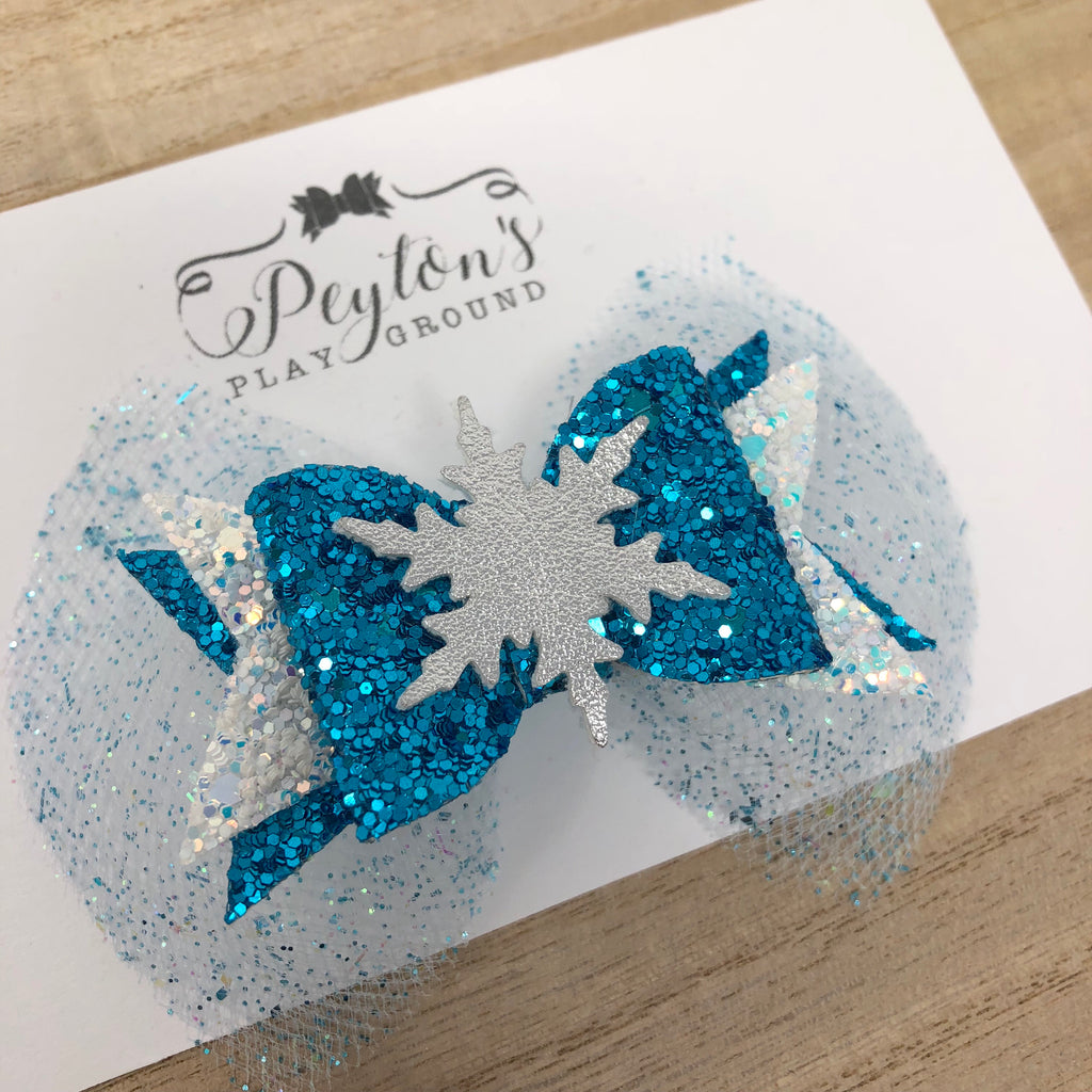 Ice Queen Lux Mini Bow