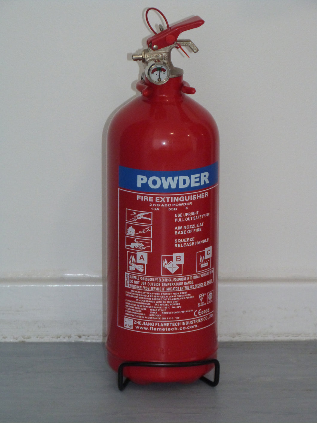 ABC Dry Powder Fire Extinguisher 2kg with CE/BSI Approval
