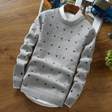 Stylish Cubic Dotted Casual Sweater