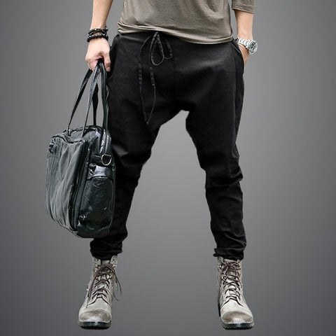 Casual Sagging pants Joggers Feet