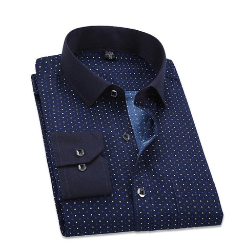 Business Dot Dress Shirt