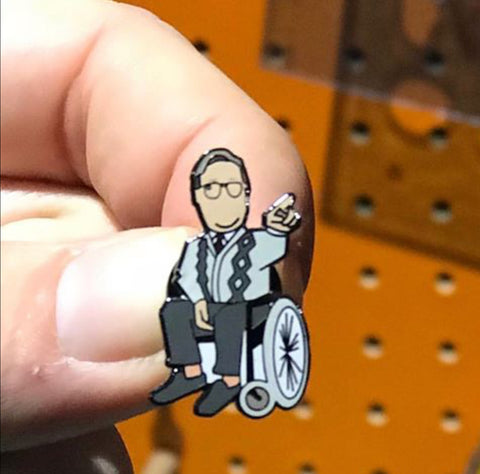 Brian Potter limited edition Pin