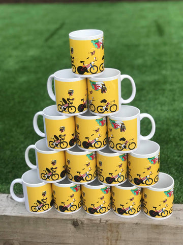 Geraint Thomas Tour de France winning mug