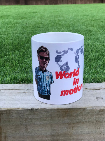 World in Motion  Mint Tea MUG