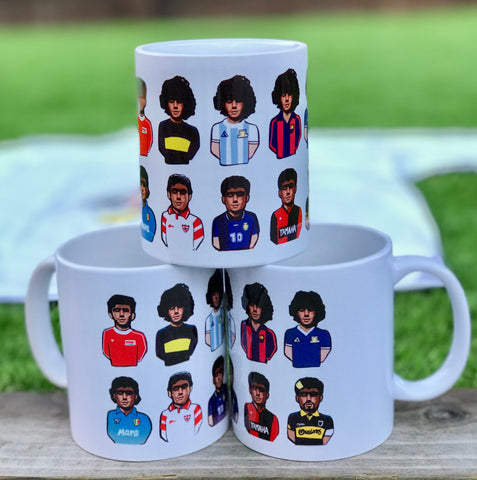 El Diego through the years Mint Tea MUG