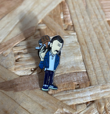 Begbie  limited edition Pin