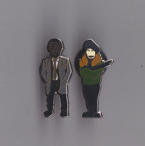 Luther  limited edition Pin