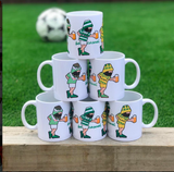 Be Casual Celtic Double Treble Mint Tea MUG
