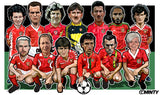 The Art of the Wales shirt  Print