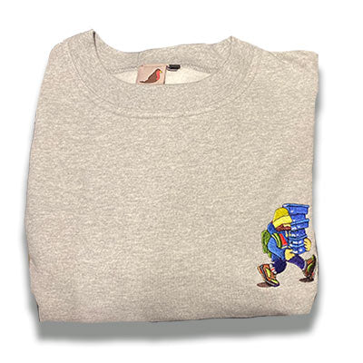 adi ladi sweatshirt - heather grey