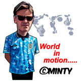 World in Motion Sky  T-shirt