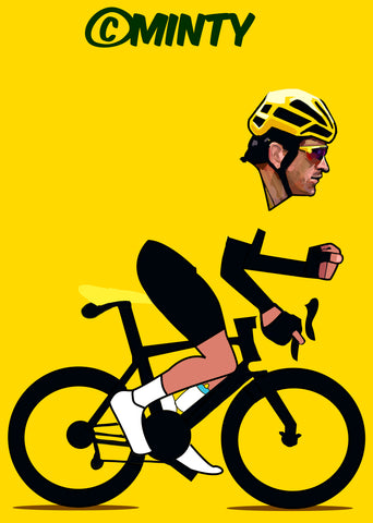 Geraint Thomas Tour De France print