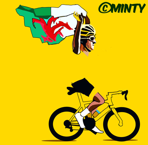 Geraint Thomas Tour De France Winner print