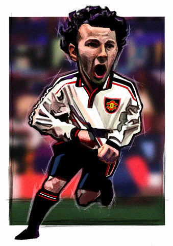 Giggs 99 RBN Print