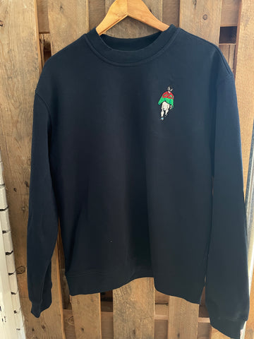 Bales for Wales  sweatshirt - navy